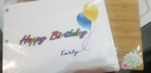 custom birthday album vogue photo events